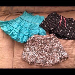 Gurls XS/5 skirt bundle